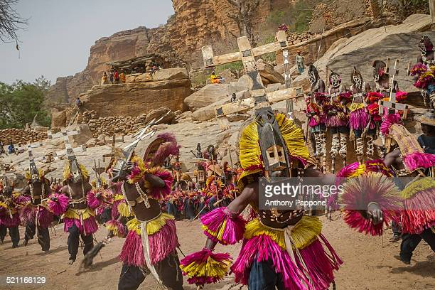 Dogon mask dance ceremony