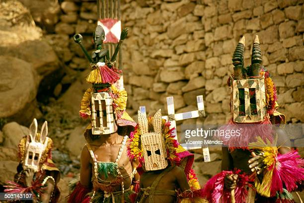 Dogon set of masks, Nombori
