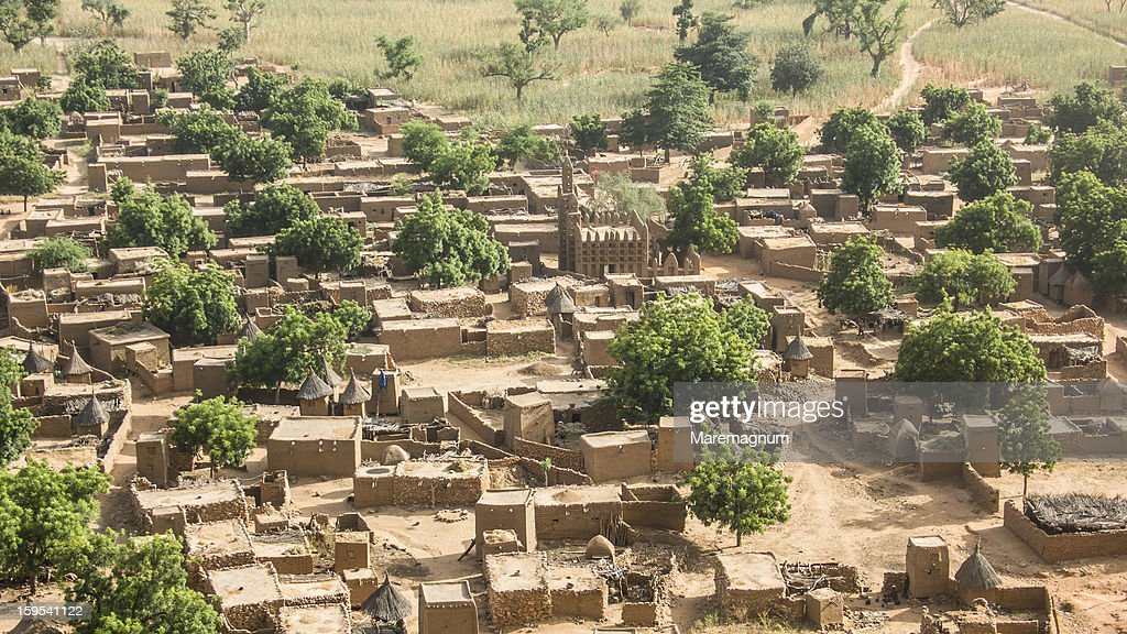 Dogon village of Irelli : Stock Photo