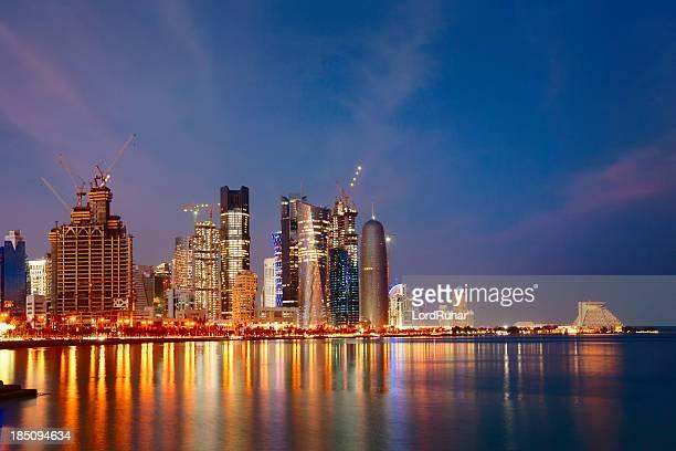 Al calar della notte di Doha