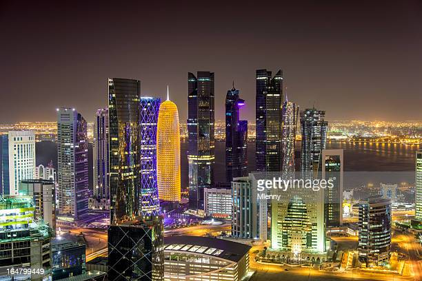 Doha by Night Qatar
