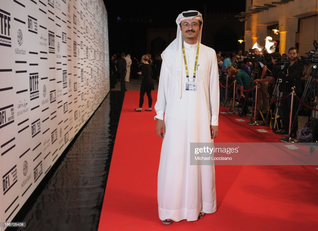 Doha Film Institute CEO Abdulaziz Bin Khalid Al-Khater attends the 'Silver Linings Playbook' premiere at the Al Mirqab Hotel during the 2012 Doha Tribeca Film Festival on November 19, 2012 in Doha, Qatar.
