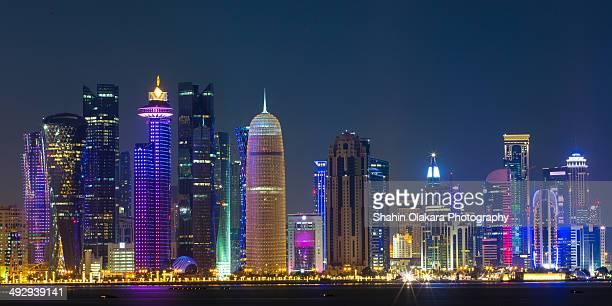 Doha panoramic view