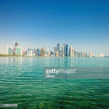 Doha Qatar Skyline