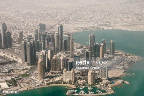 Doha West Bay Aerial