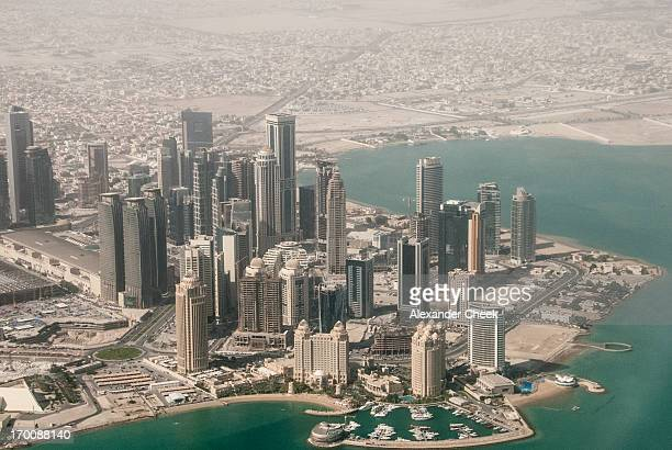 Doha West Bay Aerial