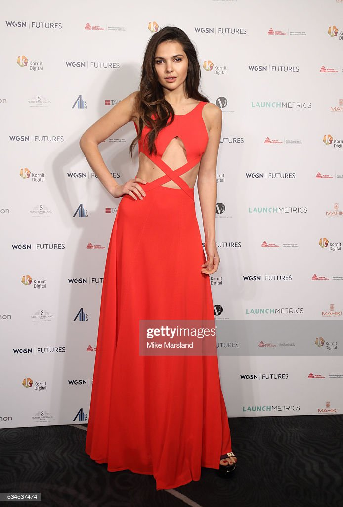 <a gi-track='captionPersonalityLinkClicked' href=/galleries/search?phrase=Doina+Ciobanu&family=editorial&specificpeople=8958837 ng-click='$event.stopPropagation()'>Doina Ciobanu</a> arrives for the WGSN Futures Awards 2016 on May 26, 2016 in London, England.