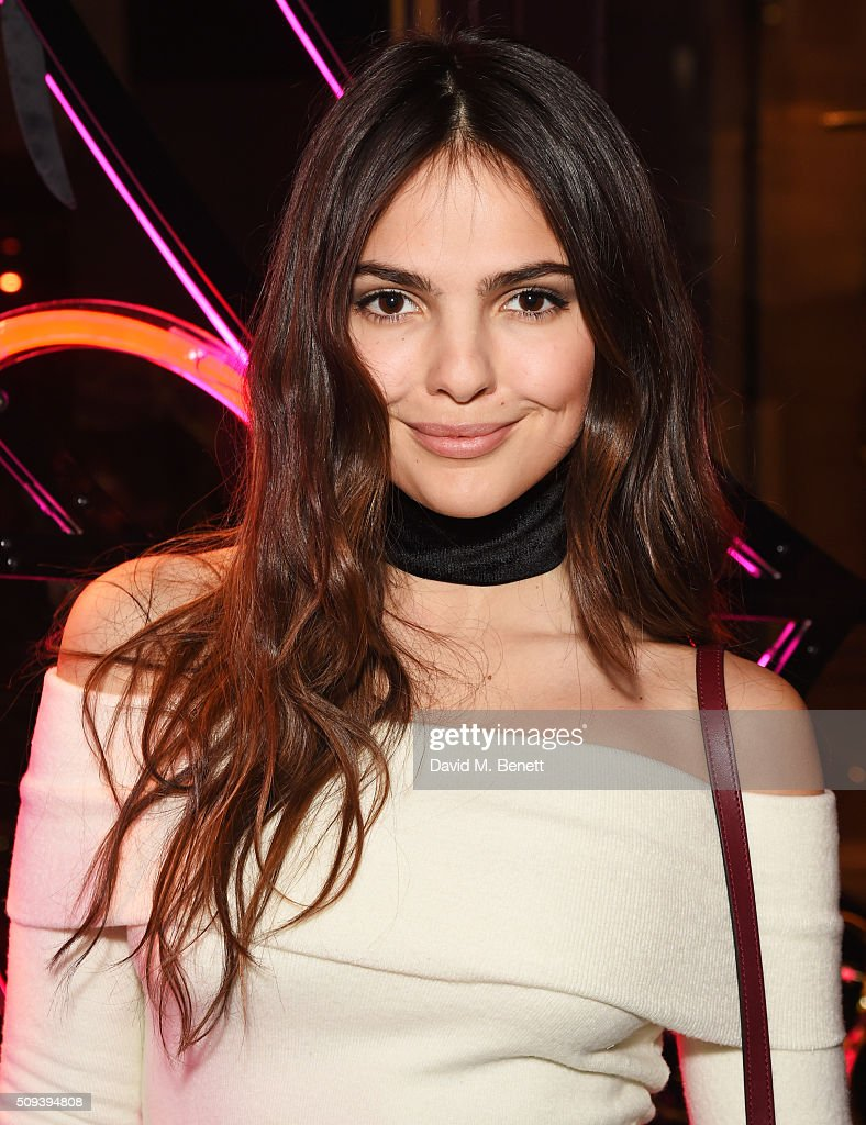 <a gi-track='captionPersonalityLinkClicked' href=/galleries/search?phrase=Doina+Ciobanu&family=editorial&specificpeople=8958837 ng-click='$event.stopPropagation()'>Doina Ciobanu</a> attends an intimate cocktail event hosted at Agent Provocateur Grosvenor Street boutique to celebrate the launch of the Agent Provocateur and Charlotte Olympia capsule collection on February 10, 2016 in London, England.