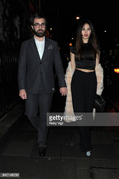 Doina Ciobanu attends Annabel's Bright Young Things party on February 16 2017 in London England