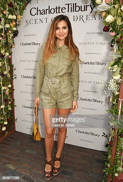 Doina Ciobanu attends as Charlotte Tilbury celebrates the launch of her first fragrance 'Scent Of A Dream' with 'face' Kate Moss featuring a surprise...