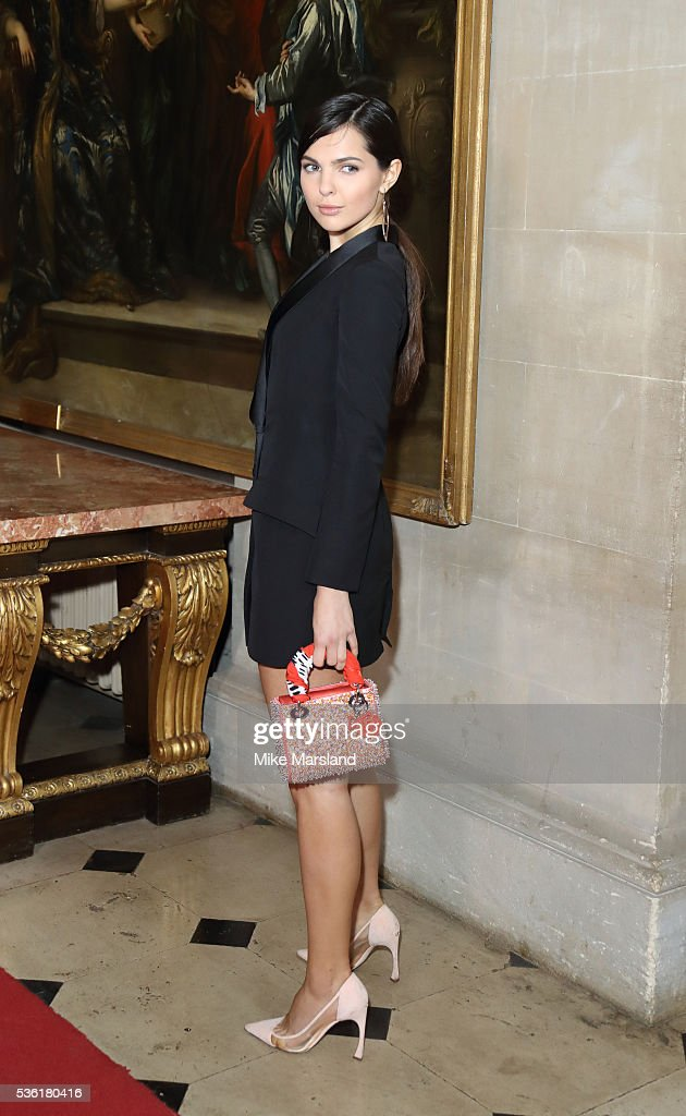 <a gi-track='captionPersonalityLinkClicked' href=/galleries/search?phrase=Doina+Ciobanu&family=editorial&specificpeople=8958837 ng-click='$event.stopPropagation()'>Doina Ciobanu</a> attends as Christian Dior showcases its spring summer 2017 cruise collection at Blenheim Palace on May 31, 2016 in Woodstock, England.