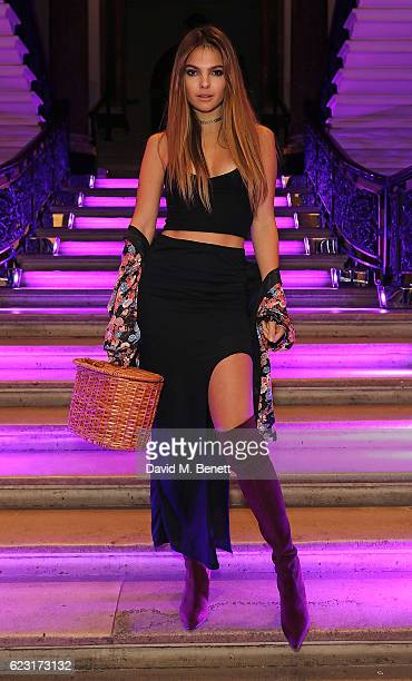Doina Ciobanu attends Stuart Weitzman's private VIP dinner at Royal Academy of Arts to celebrate opening of it's London flagship boutique on November...