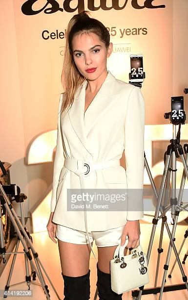 Doina Ciobanu attends the launch of the Esquire Townhouse with Dior on October 12 2016 in London England
