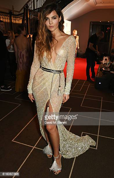 Doina Ciobanu attends the Scottish Fashion Awards in association with Maserati at Rosewood Hotel on October 21 2016 in London England