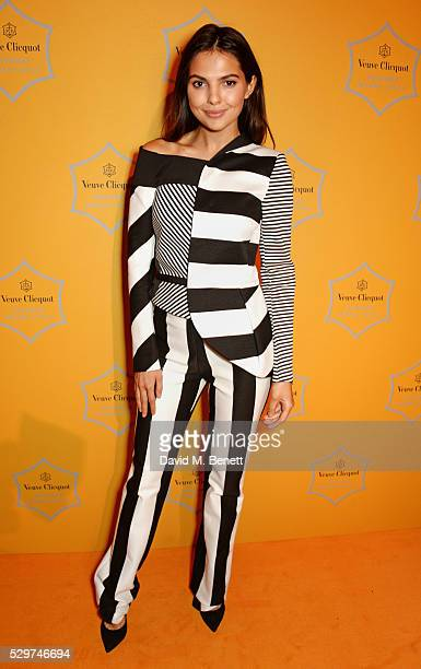 Doina Ciobanu attends the Veuve Clicquot Business Woman Award at The Ballroom of Claridge's on May 9 2016 in London Englan