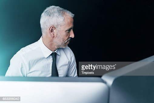 Doing business in the virtual world : Stock Photo