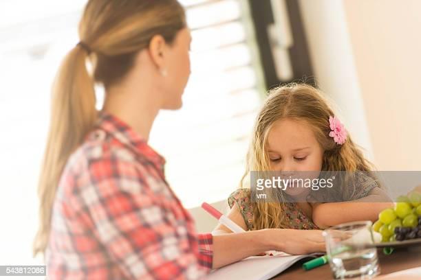 Hausaufgaben machen