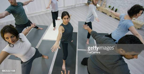 Doing Yoga in a Group