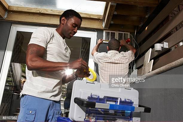 Faites-le vous-même la réparation de maison urbaine