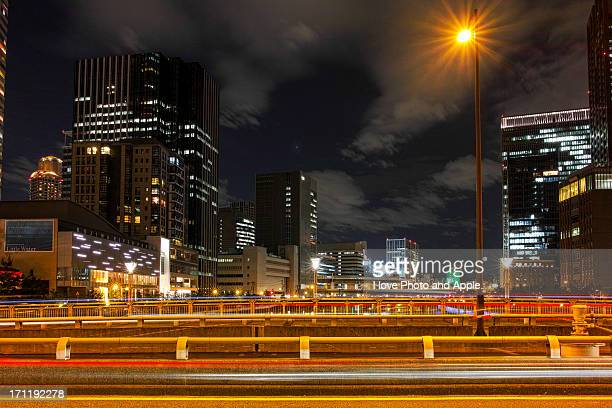 Dojima river night view