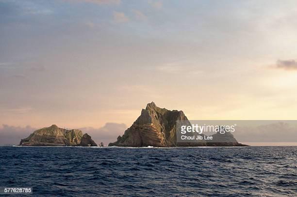 Dokdo Island of Korea