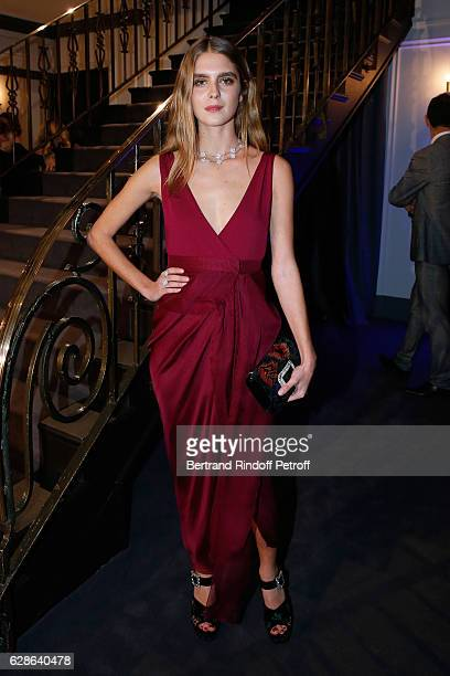 Doll attends the Annual Charity Dinner hosted by the AEM Association Children of the World for Rwanda at Pavillon Ledoyen on December 8 2016 in Paris...