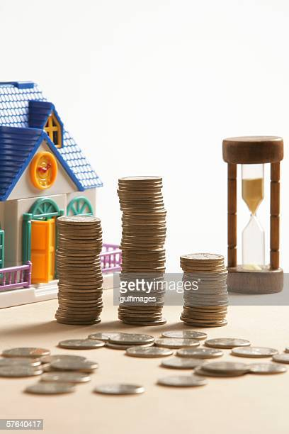 Doll House and Coins