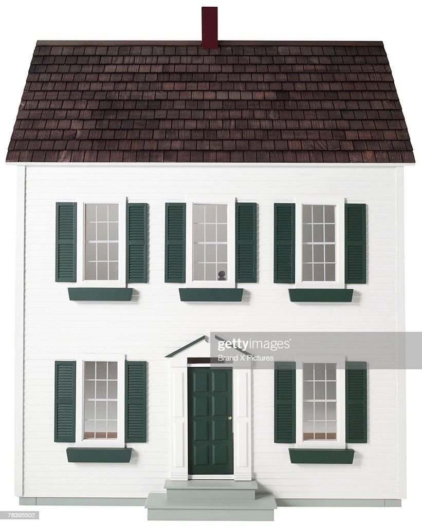 Doll house : Stock Photo