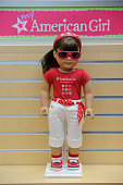 A doll wearing an American Girl Washington DC shirt is seen at the American Girl Washington DC store at Tysons Corner Center on Monday June 6 2011 in...