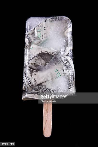Dollar Bill Popsicle