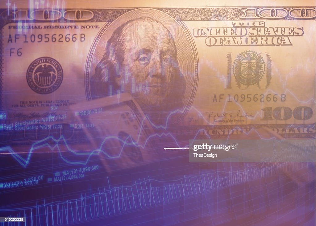 100 $ dollar bills : Foto de stock