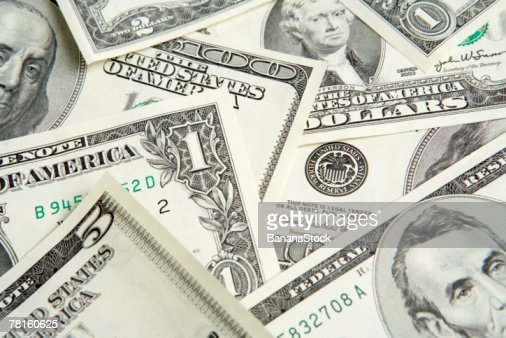 Dollar bills : Stock Photo