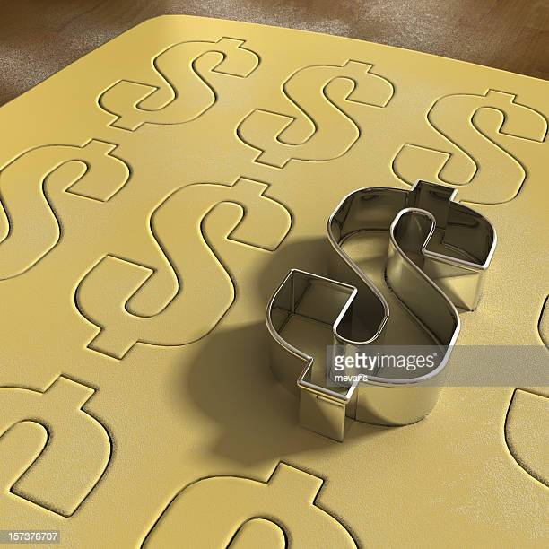 Dollar Cookie Cutter