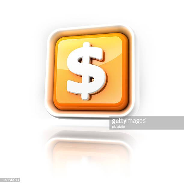 Dollar money icon