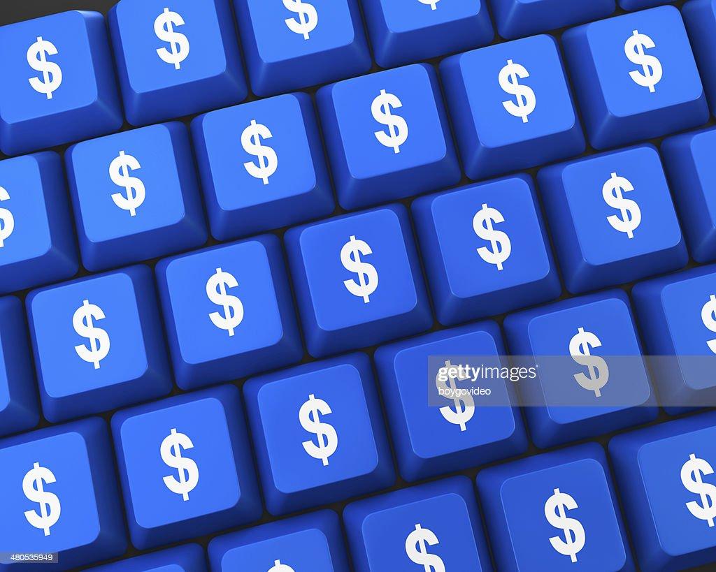 1 ドル : ストックフォト