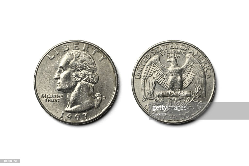 US Dollar Quarter Coin
