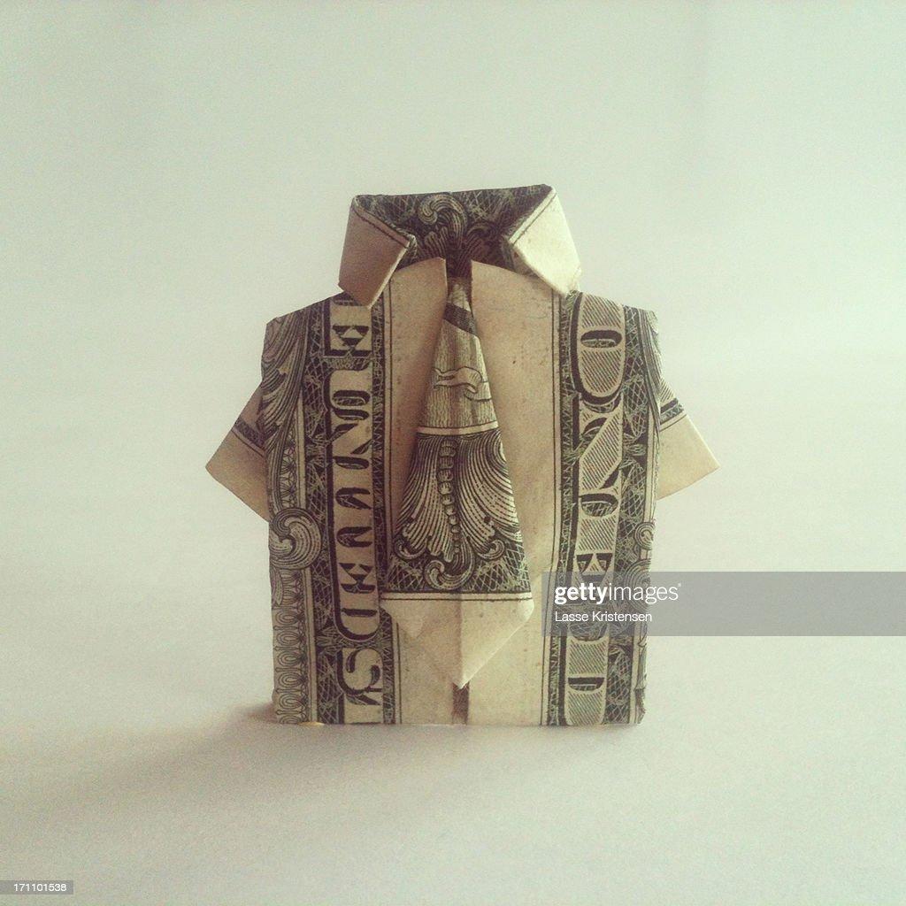 A dollar shirt : Stock Photo