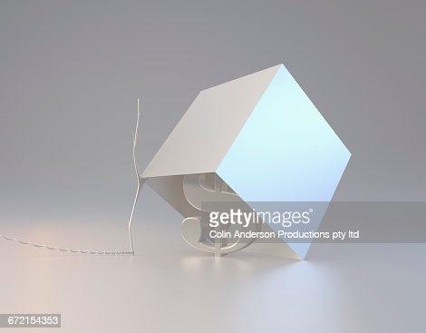 Dollar sign inside box trap