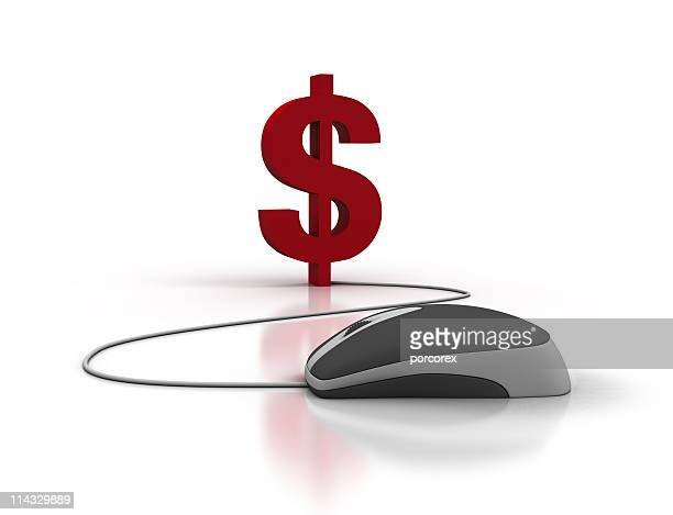 Dollar Sign with Computer Mouse