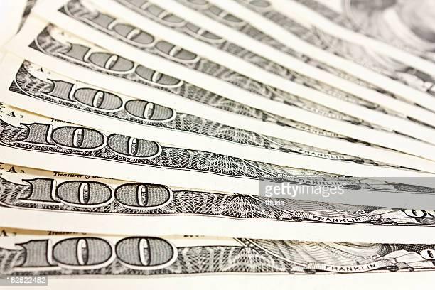 Dólar padrão de design criativo abstrato fotografia de fundo