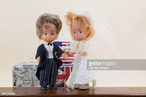 dolls of Newlyweds