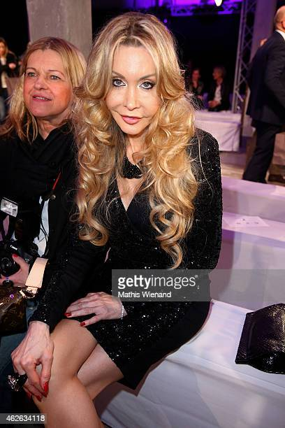 Dolly Buster attends the Thomas Rath show during the Platform Fashion February 2015 on February 1 2015 in Duesseldorf Germany