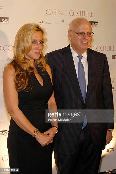 Dolly Lenz and Howard Lorber attend Casino Couture in conjunction with Manhattan House Designer Showcase Debut at Sotheby's on October 24 2007 in New...