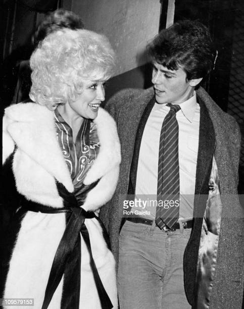 Dolly Parton and brother David Parton during Dolly Parton Sighting at 'Morning at Seven' October 30 1980 at Lyceum Theater in Edinburgh Great Britain