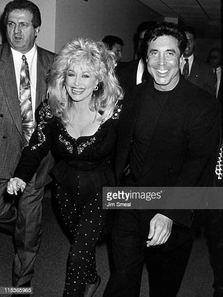 Dolly Parton and Sandy Gallin during Grand Opening Party and Ribbon Cutting at Sony Music Studios at Sony Music Studios in New York City New York...