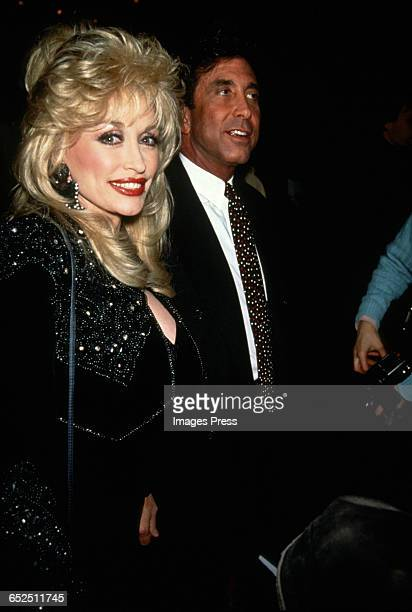 Dolly Parton and talent manager Sandy Gallin circa 1992 in New York City