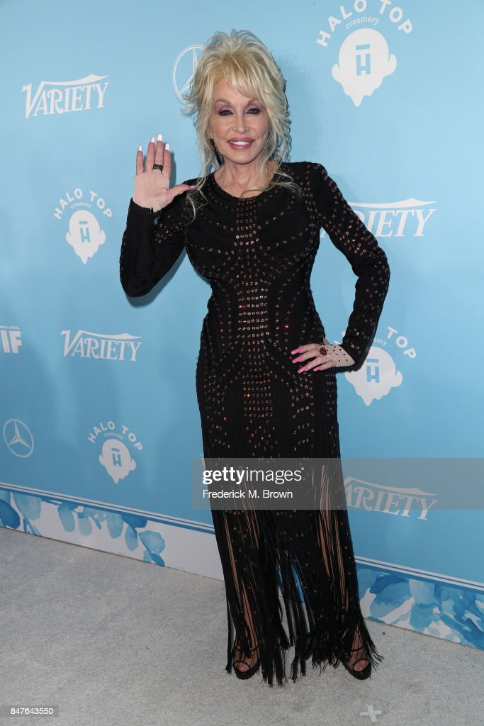 Dolly Parton attends the Variety and Women In Film's 2017 Pre-Emmy Celebration at Gracias Madre on September 15, 2017 in West Hollywood, California.