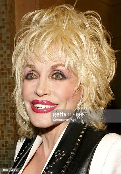 Dolly Parton during CMT Giants Honoring Reba McEntire Red Carpet at Kodak Theater in Hollywood California United States