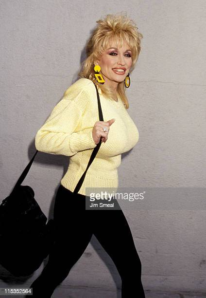 Dolly Parton during Dolly Parton at Las Vegas Airport February 19 1992 at Las Vegas Airport in Las Vegas NV United States