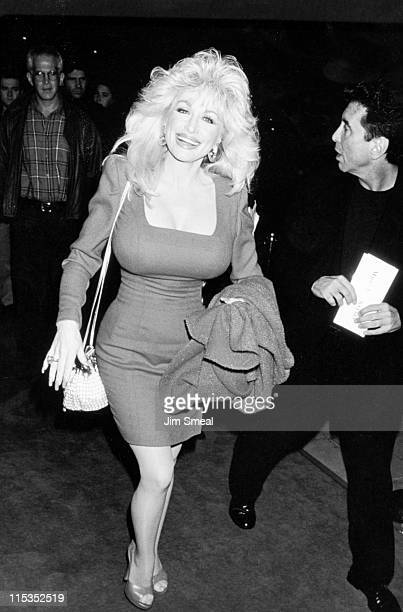 Dolly Parton during 'Mrs Doubtfire' Los Angeles Premiere at Academy Theater in Beverly Hills California United States
